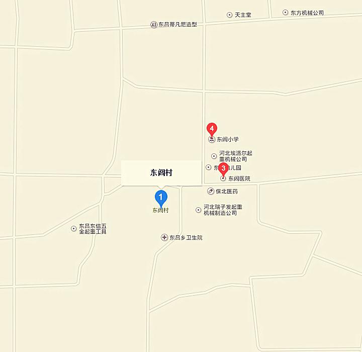 河北东圣吊索具制造有限公司百度地图标注