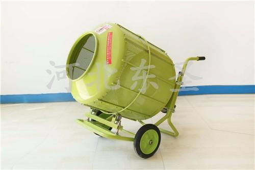 350L220v移动式小型滚筒搅拌机