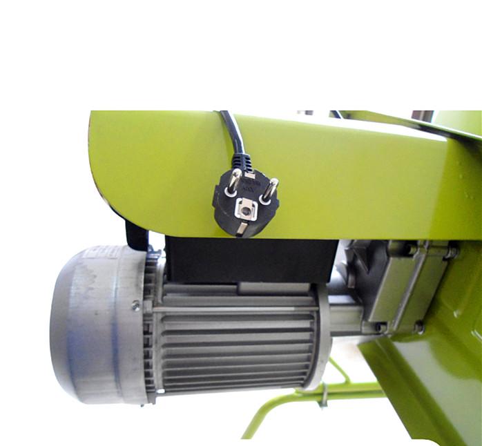 地式正反转自动卸料小型搅拌机电机局部细节图展示--河北东圣吊索具制造有限公司--小型搅拌机|石材夹具|液压堆高车|手动叉车