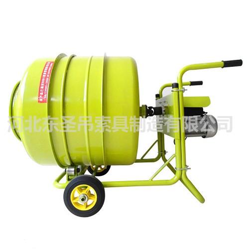 家用小型水泥搅拌机使用产品展示--河北东圣吊索具制造有限公司--小型搅拌机|石材夹具|液压堆高车|手动叉车