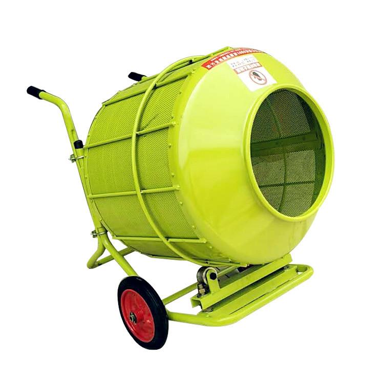 小麦拌种机正面细节--河北东圣吊索具制造有限公司--小型搅拌机|石材夹具|液压堆高车|手动叉车