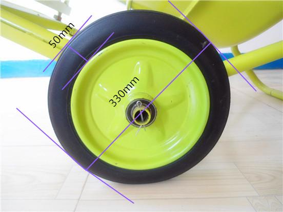 滚筒式小型搅拌机实心轮胎细节展示--河北东圣吊索具制造有限公司--小型搅拌机|小型砂浆搅拌机|小型混凝土搅拌机