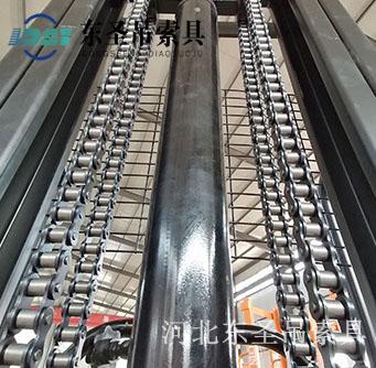 1吨液压堆高车加固强化链条--河北东圣吊索具制造有限公司