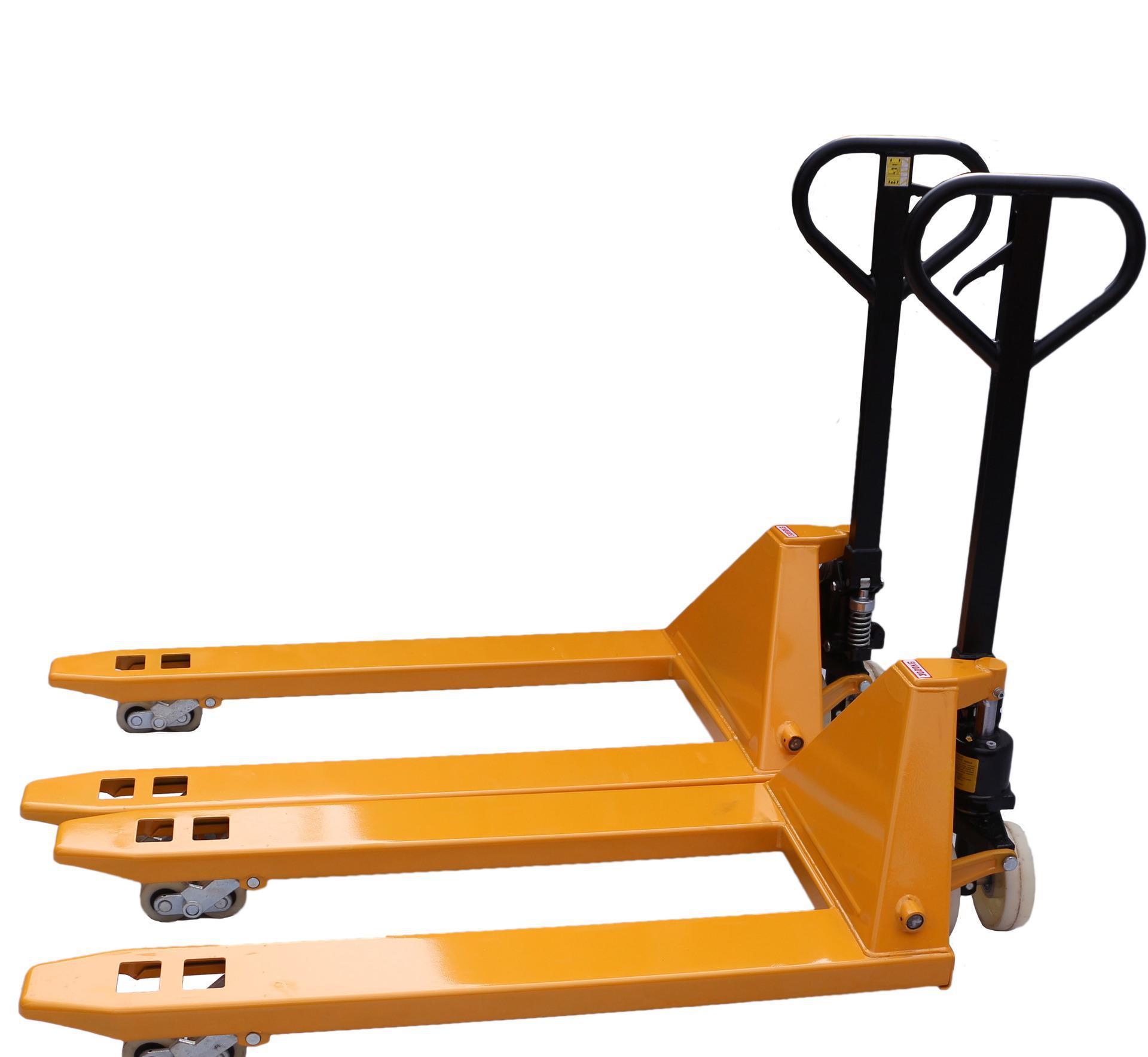 手动地牛叉车使用--河北东圣吊索具制造有限公司--小型搅拌机|手动叉车|液压堆高车|手动叉车