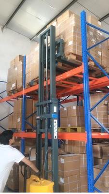 液压堆高车钢板安装使用